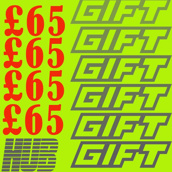 £65 Gift Voucher