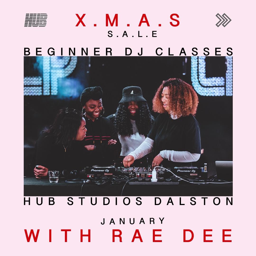 x4 Beginner DJ Classes £65